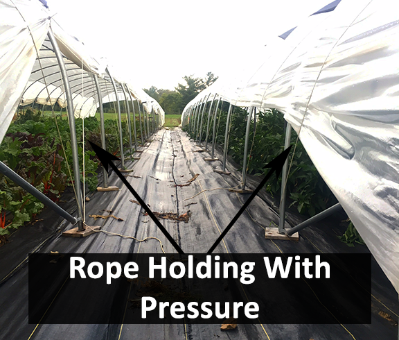 4 Ways to Attach Greenhouse Plastic to a Metal Frame - Do it